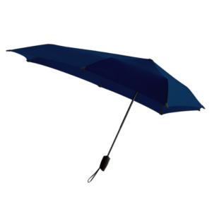 Stormsikret paraply blå
